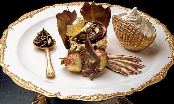The Golden Cupcake